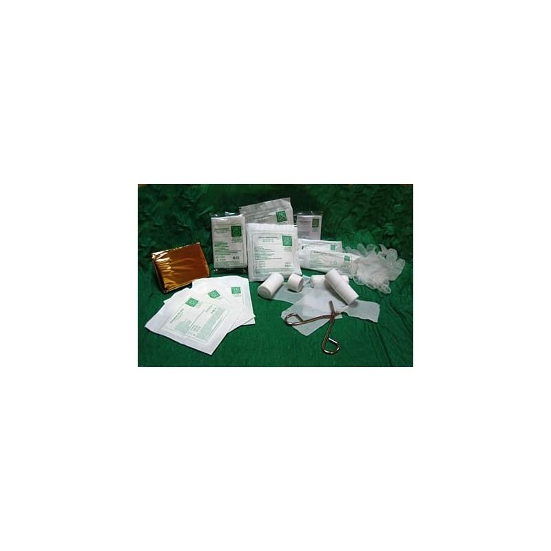Wyposażenie apteczki DIN13164