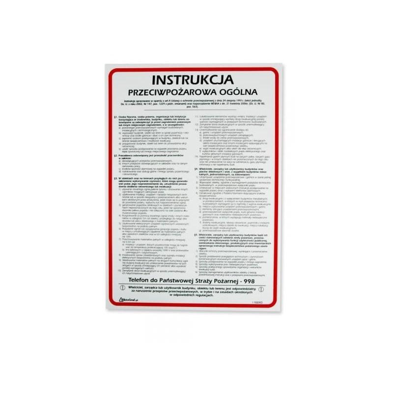 Instrukcja pzeciwpożarowa
