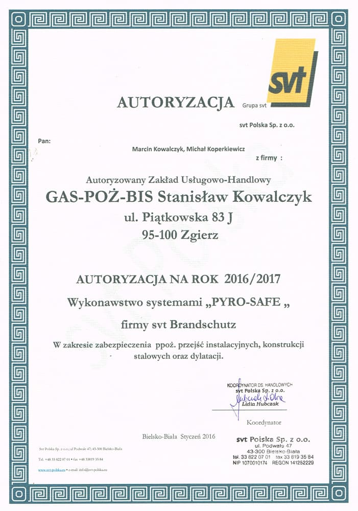Wykonujemy zabezpieczenia ogniochronne konstrukcji stalowych